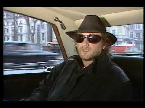 Deep Purple's Roger Glover in London March 1987