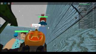 CRAZY HEADLESS PUMPKIN MAN-Roblox-The Normal Elevator