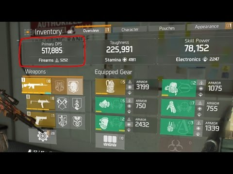 THE DIVISION - 5 GOD ROLL WEAPONS YOU NEED TO GET! BEST WEAPON AFTER 1.5 PATCH