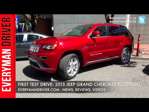 Here's the 2015 Jeep Grand Cherokee EcoDiesel on Everyman Driver