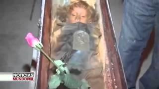 nia muerta durante 94 aos abre y cierra los ojos en catacumbas