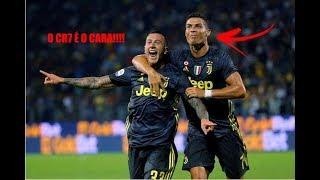 JUVENTUS 2X0 FROSINONE - Gols & Melhores Momentos - O Cristiano Ronaldo é o cara !!!