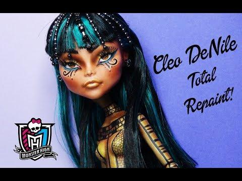 TOTAL REPAINT: Cleo DeNile - Anck Su Namun Inspired