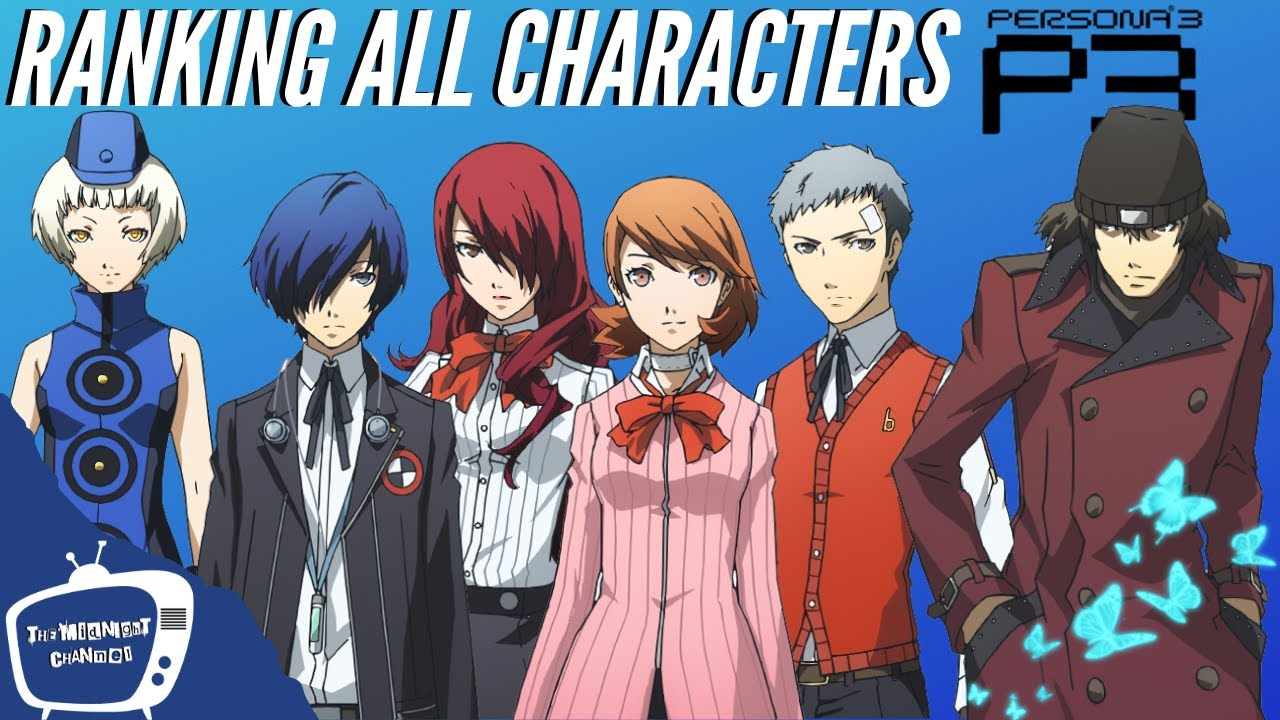 3 characters persona List of