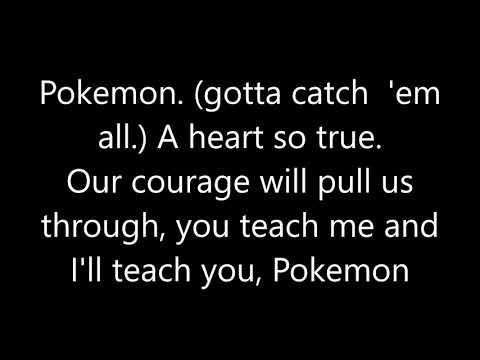 Pokemon I Choose You Theme Song
