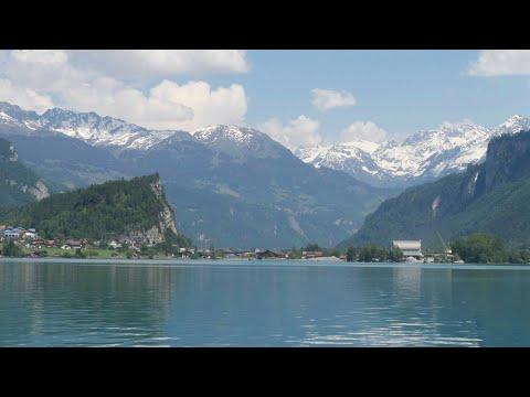 Lake Brienz In Switzerland By Boat Cruises