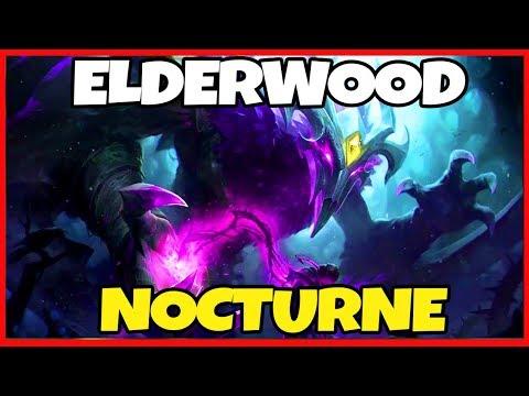 ELDERWOOD NOCTURNE SKIN SPOTLIGHT! BEST NOCTURNE SKIN? - League of Legends