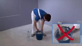 Jak tmelit sádrokartonové konstrukce