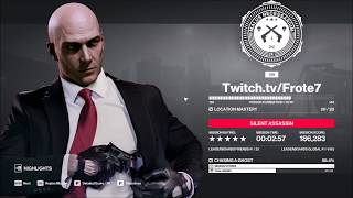 HITMAN 2 - Mumbai - Chasing A Ghost - Silent Assassin Speedrun (2:57)