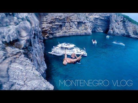 Cliff Jumping Kotor Montenegro Vlog - Travel Montenegro 2018 - Europe Summer