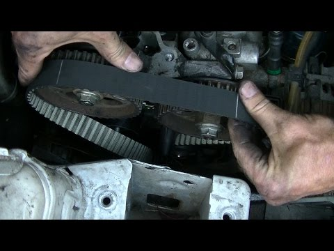 Timing belt & coolant pump replacement