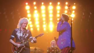Queen & Adam Lambert - Somebody to Love - Boston Garden - 7.25.17
