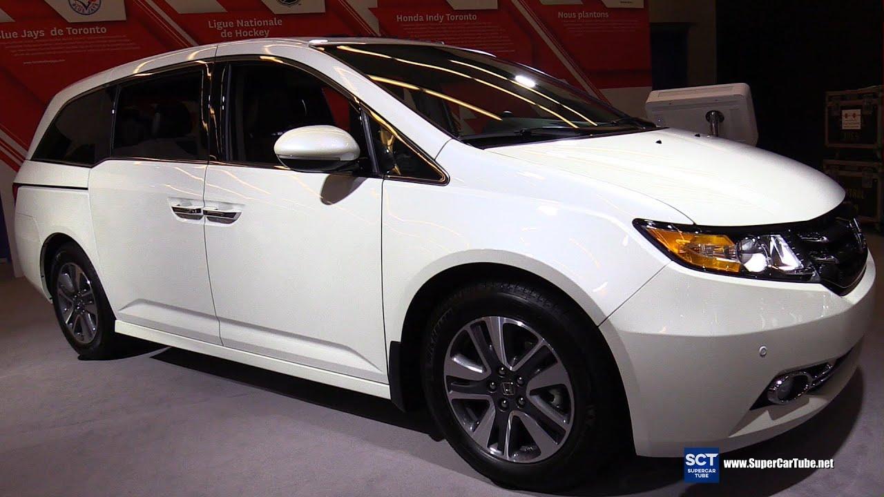2016 Honda Odyssey Touring Exterior And Interior Walkaround Montreal Auto Show