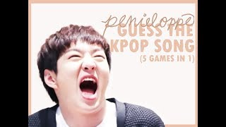Video 5 GAMES IN 1 || Guess the K-pop Song download MP3, 3GP, MP4, WEBM, AVI, FLV Mei 2018