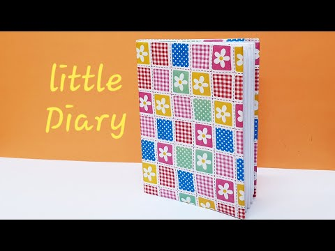 How to make a DIY mini diary or mini book