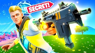 NEW *SECRET* Legendary SMG! (New Update)