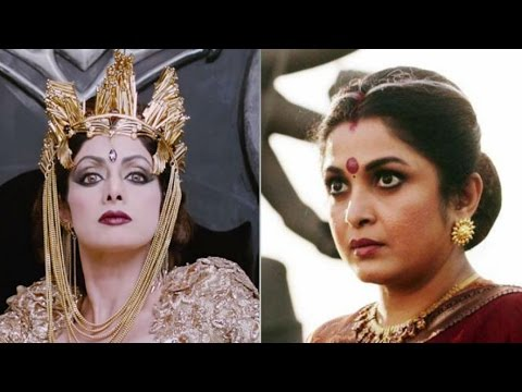 Sridevi Was First choice for The Role of 'Rajmata' in Bahubali