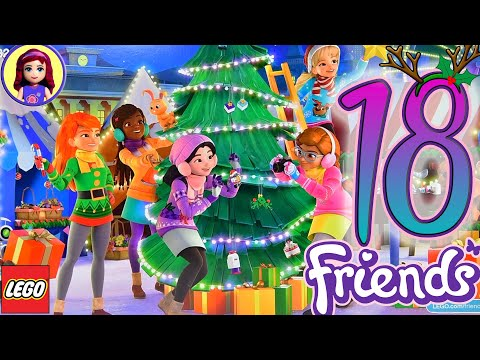Only Seven Days Until Christmas! Opening Door 18 Of Lego Friends Advent Calendar 2019