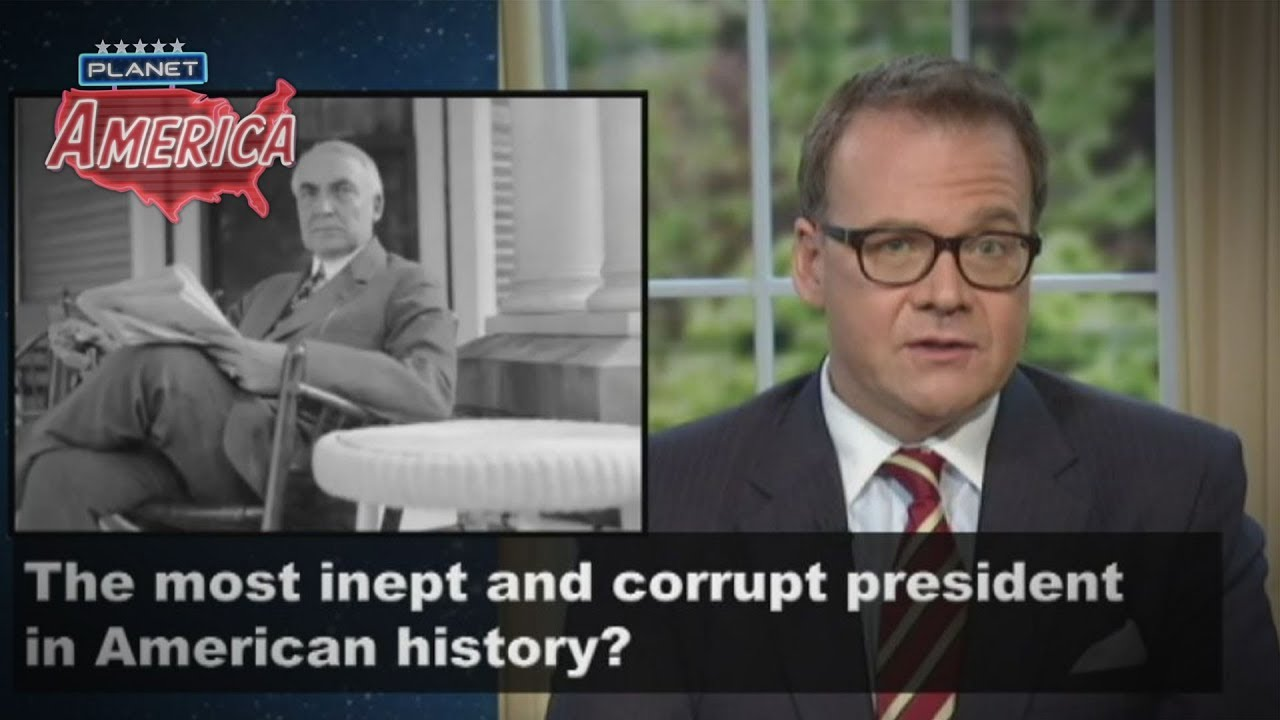 Who was the most inept and corrupt president in American history?
