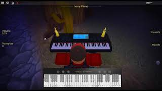 This is your last warning - SCP by: Someone, I think... on a ROBLOX piano.