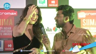 Laxmi Raai Exclusive Interview - SIIMA 2014 Awards