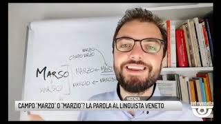 """TG VICENZA (29/07/2019) - CAMPO """"MARZO"""" O """"MARZIO""""? LA PAROLA AL LINGUISTA VENETO"""