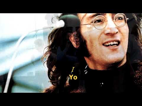 Dig a pony - The Beatles (LYRICS/LETRA) [Original]