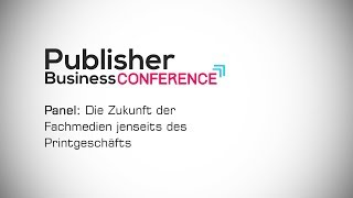 Moderation: Publisher Business Conference