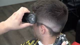 how to do a fade and how to use the shears at top