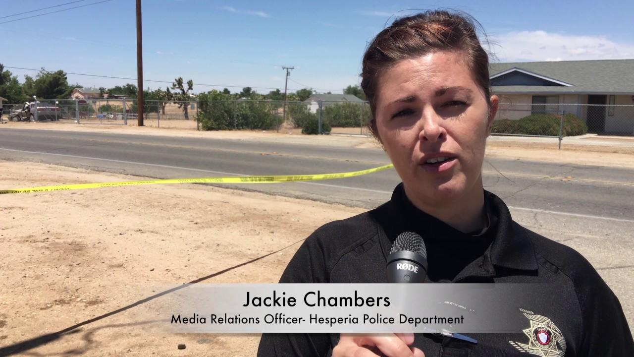 Woman Killed in Car Crash in Hesperia Tuesday May 16, 2017