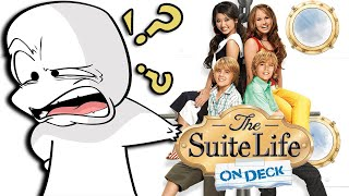 The Suite Life on Deck was such a weird show...