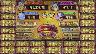 CASHING OUT A PROFIT! 88 FORTUNE SLOT MACHINE!