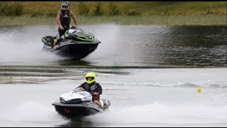 JETSKI DRAG RACING - World's fastest stock engine Kawasaki