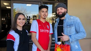 EFREN GETS A HAIRCUT BY ULYSSES (EVETTEXO HUSBAND)