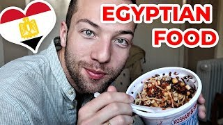Trying EGYPTIAN FOOD