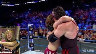 WWE Smackdown 6/26/18 Team HELL NO Reunited