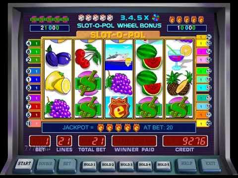 Классический автомат Slot O Pol Ешки с игрой на деньги