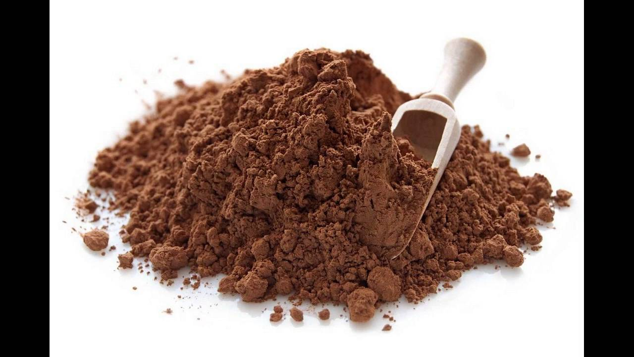 Cocoa powder hair