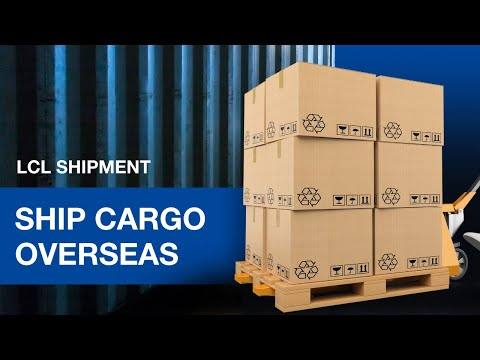 LCL Shipment | How to Ship Cargo Overseas Fast & Cost Effectively