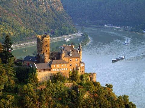 """DER RHEIN--River Rhine--Europes """" River of Destiny"""" and Biggest Waterway"""