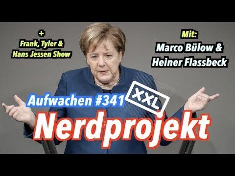 Aufwachen #341 mit Marco Bülow & Heiner Flassbeck + CDU-Regionalkonferenz, Bundestag, Haushaltsplan