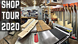 Small Woodworking Shop Tour 2020 / One-car Woodshop