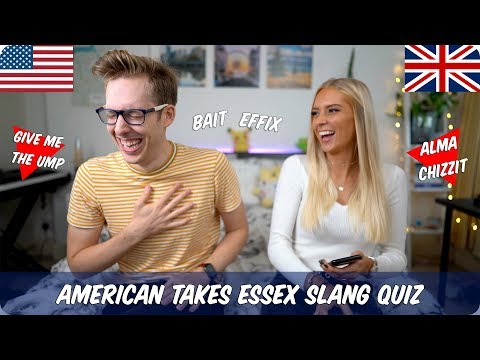 American Takes Essex Slang Quiz with Fabulous Hannah