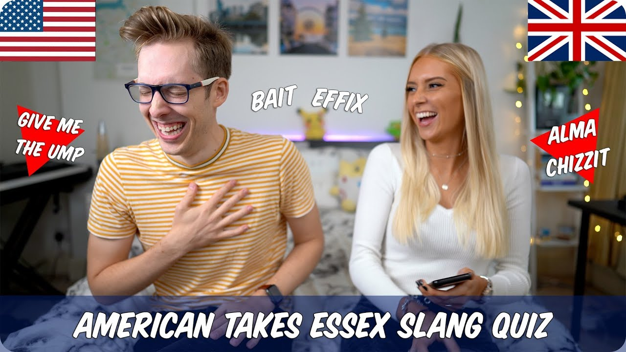 Download American Takes Essex Slang Quiz with Fabulous Hannah