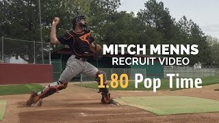 Video Mitch Menns - Catching Recruit Video 1.8 Pop Time download MP3, 3GP, MP4, WEBM, AVI, FLV Agustus 2018