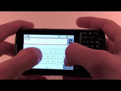 Motorola Droid Pro XT610 hands-on