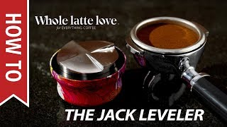 Stainless Steel Asso Coffee The Jack Coffee Leveller