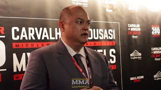 Scott Coker Discusses 'Spectacular' Bellator 200, MacDonald vs. Mousasi - MMA Fighting