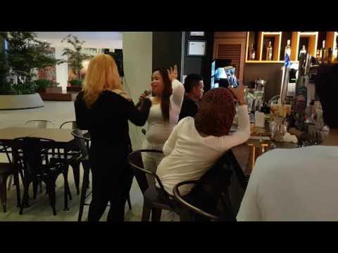 Watch celebrity Sabahan Singer Esther Applunius in Kota Kinabalu, Sabah