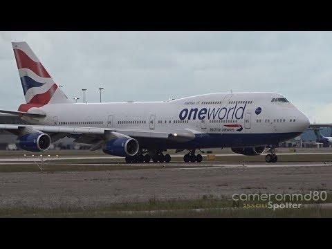 Diverted | British Airways | Boeing 747-400 | G-CIVD | Nassau,Bahamas